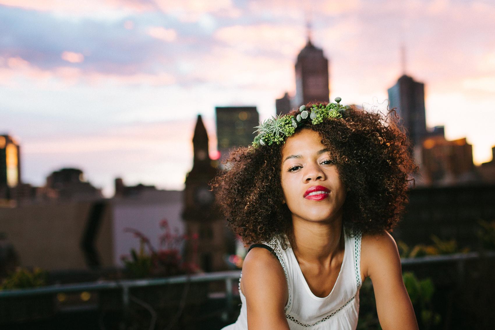 Ebony-Melbourne-Skyline-Sunrise-Bohemian-Wedding-Photography-Inspiration-4