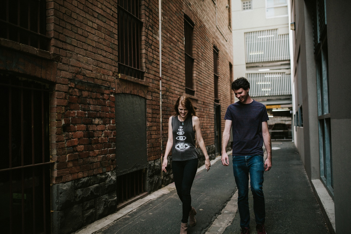 heli-alex_melbourne-fun-candid-gritty-relaxed-city-urban-couples-engagement-session_melbourne-wedding-photography_1