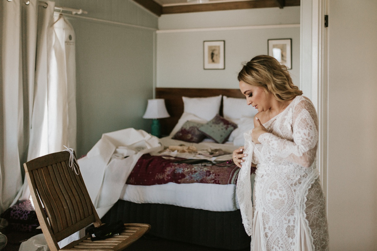 Clifftop Boutique Hotel Philip Island Bohemian Relaxed Candid Wedding Photography
