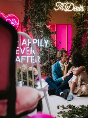 Gold&Grit_Neon-Marie-Antoinette_Melbourne-Neon-Pink-Fun-Quirky-Colourful-Fun-Wedding_21